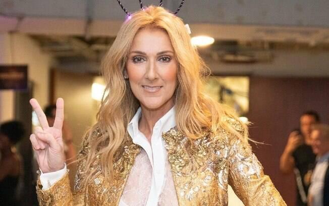 Céline Dion é acusada de satanismo em nova linha de roupa por um padre dos Estados Unidos