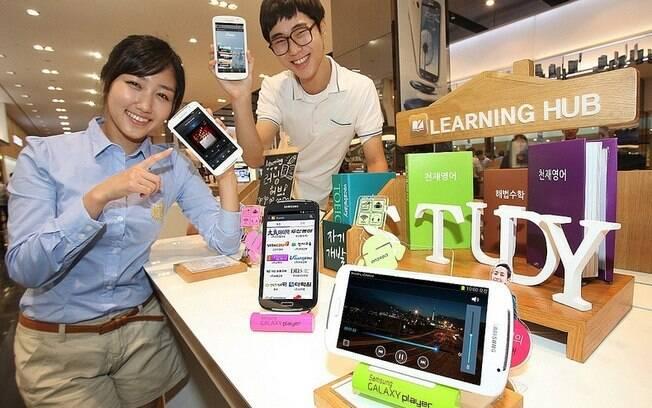 Galaxy Player, o novo player da Samsung, ganhou tela de 5.8 polegadas