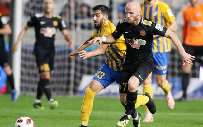 Campeonato Cipriota é a liga europeia com o maior número de jogadores estrangeiros proporcionalmente