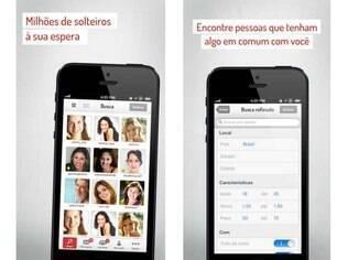 Para Android e iOS, app da plataforma de relacionamentos tem as mesmas funcionalidades do site, além de notificações de quem está interessado no usuário