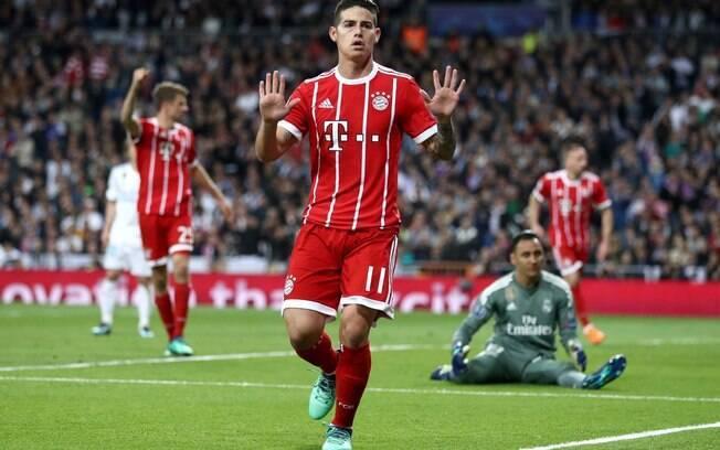 James Rodríguez pediu para não ser comprado pelo Bayern de Munique.