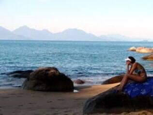 Praia do Cedro, em Ubatuba