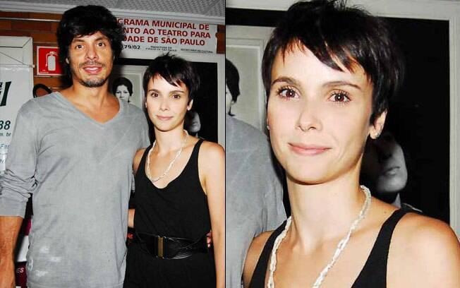 Daniel Alvim e Débora Falabella