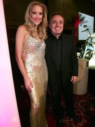 Gugu Liberato e Gianne Albertoni