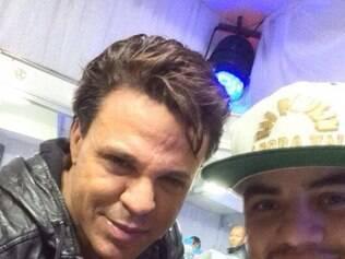 Dj Paulinho e o cantor Eduardo Costa