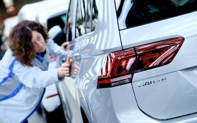 VW Tiguan é um dos modelos fabricados no México e são vendidos no mercado brasileiro hoje em dia