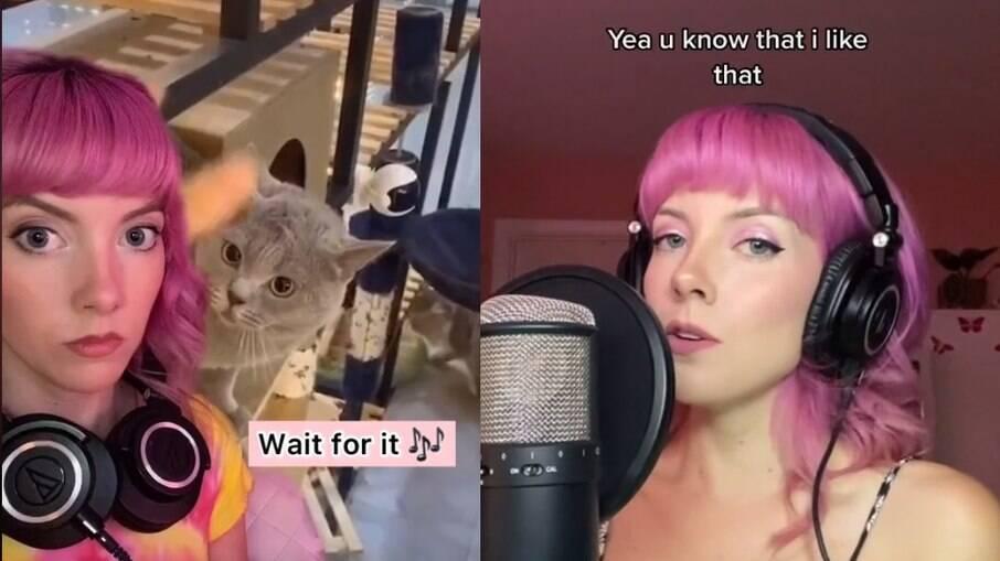 A cantora Meredith Bull faz sucesso ao traduzir sons de animais em música