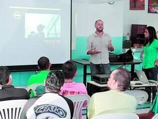 Oportunidade. Internos de Apac de Itaúna conheceram detalhes de novo curso na tarde de ontem