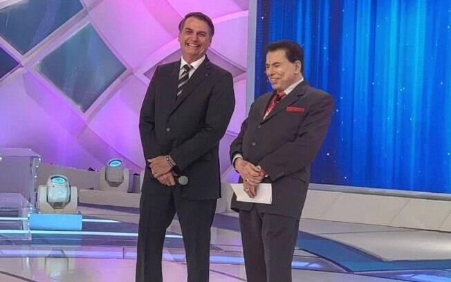 Jair Bolsonaro participou do programa de Silvio Santos neste domingo, onde falou sobre os radares
