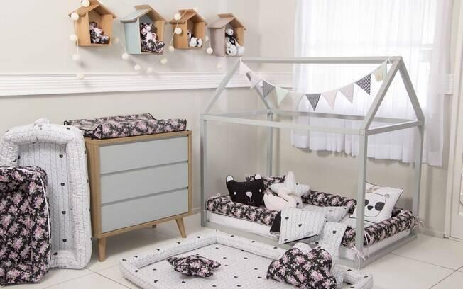 Confira como montar um quarto montessoriano: cor preta também pode participar da decoração