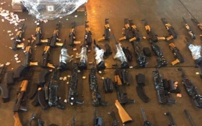 No acumulado de janeiro a setembro de 2020, foram apreendidas 4.858 armas de fogo no estado