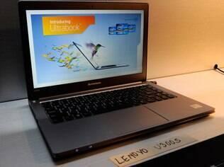 Ultrabook da Lenovo: empresa é forte também no mercado de notebooks