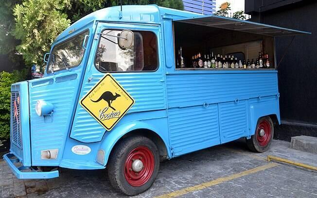 Beer Truck da Uniland é um Citröen H Van de 1982, achado em Londres, na Inglaterra