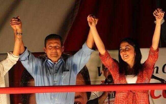 O ex-presidente do Peru Ollanta Humala e a esposa Nadine Hereida tiveram o acesso negado aos depoimentos