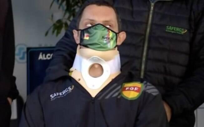 Ao L!, árbitro agredido durante jogo no RS desabafa: 'Foi um ato covarde, mas agradeço por estar vivo'