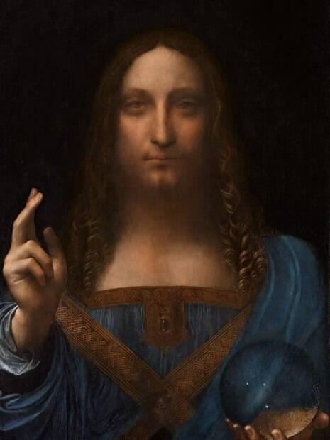 Leonardo Da Vinci Salvatore Mundi