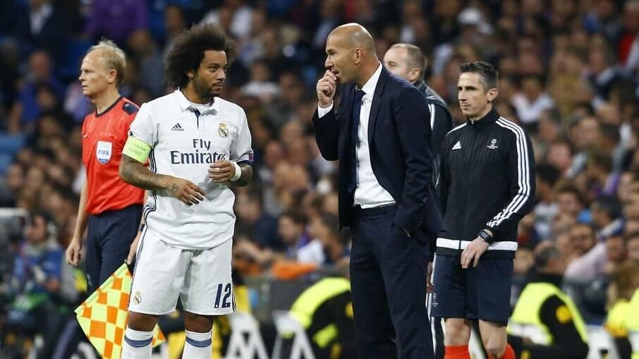 Marcelo não é relacionado para jogo contra o Granada