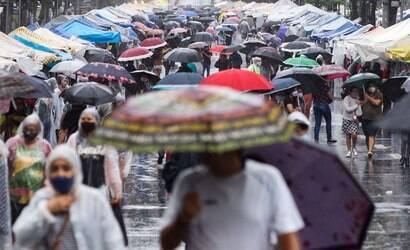 Frio e chuva: frente fria muda tempo em SP no fim de semana