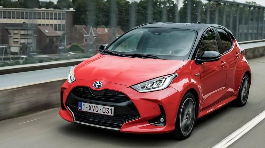 Toyota Yaris Hybrid: ainda não chegou ao Brasil, embora a marca tenha planos de tê-lo aqui quando for possível