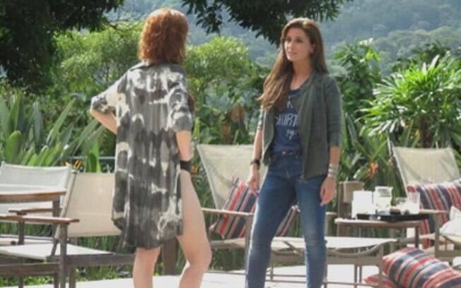 Vanessa provoca Clara