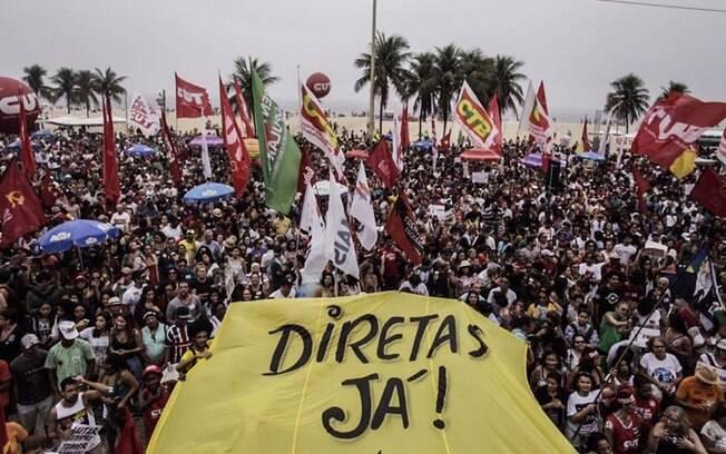 Centrais sindicais e grupos de esquerda ligados ao movimento