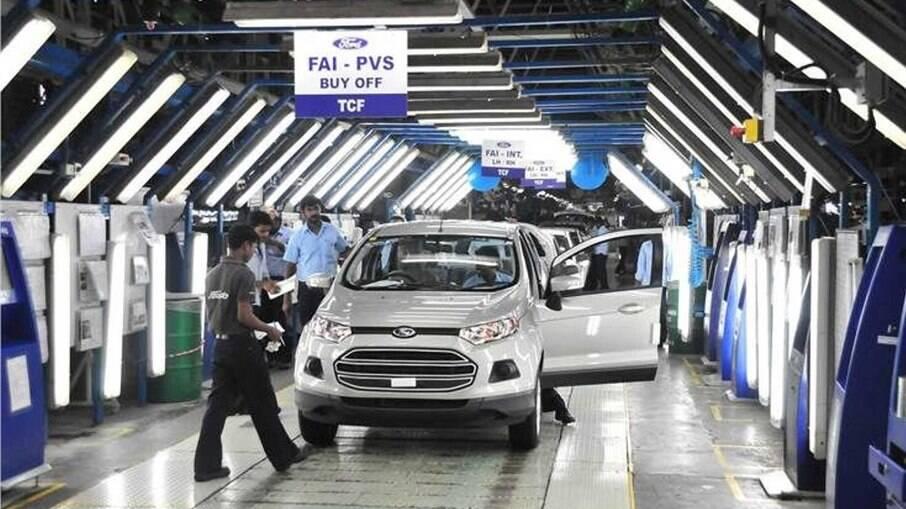 Após encerrar produção em Camaçari (BA), Ford fecha duas fábricas na Índia