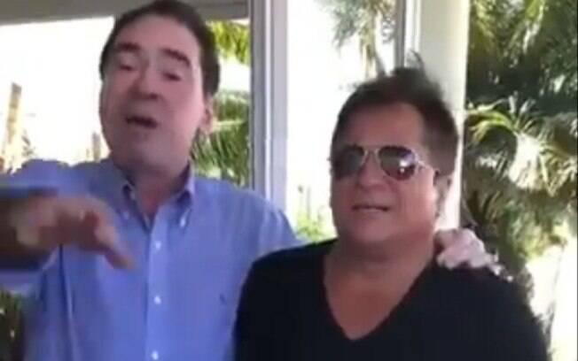 'Nós vamos aí comer vocês', diz desembargador a juízas de Santa Catarina; no vídeo, ele aparece ao lado do cantor Leonardo