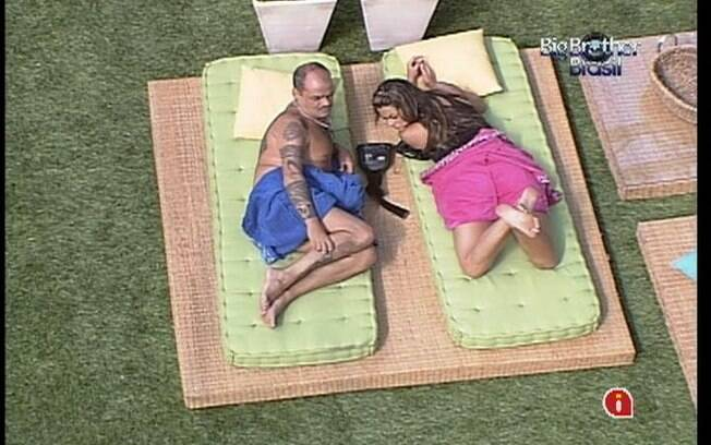 Monique vê mais chances de Yuri ficar no reality show