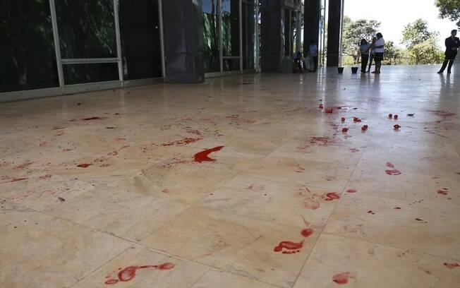 Protesto a favor da liberdade ao ex-presidente Lula em frente ao STF, na semana passada, durou cerca de 10 minutos