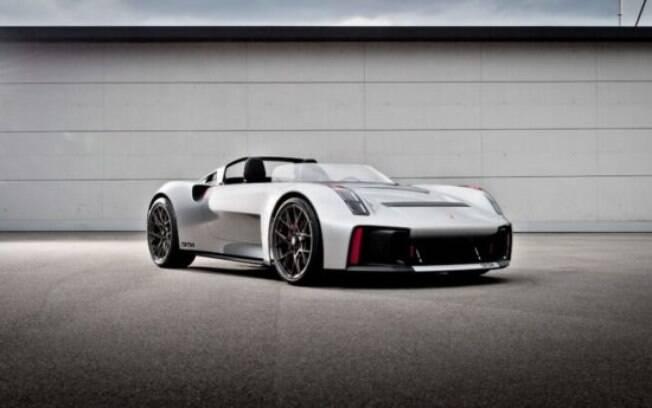 Porsche Vision Concept foi inspirado no roadster 550 Spyder, de meados dos anos 50