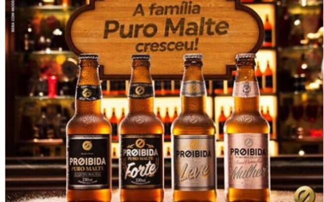 Cerveja Proibida lança linha especializada de cerveja para mulheres