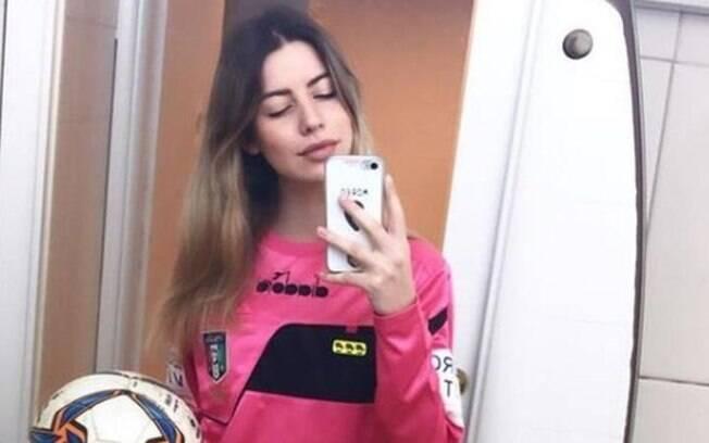 Garoto fez gesto obsceno para a juíza Giulia Nicastro