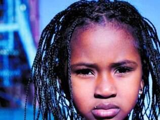 Mariama, de Serra Leoa, foi uma das modelos do projeto dos EUA