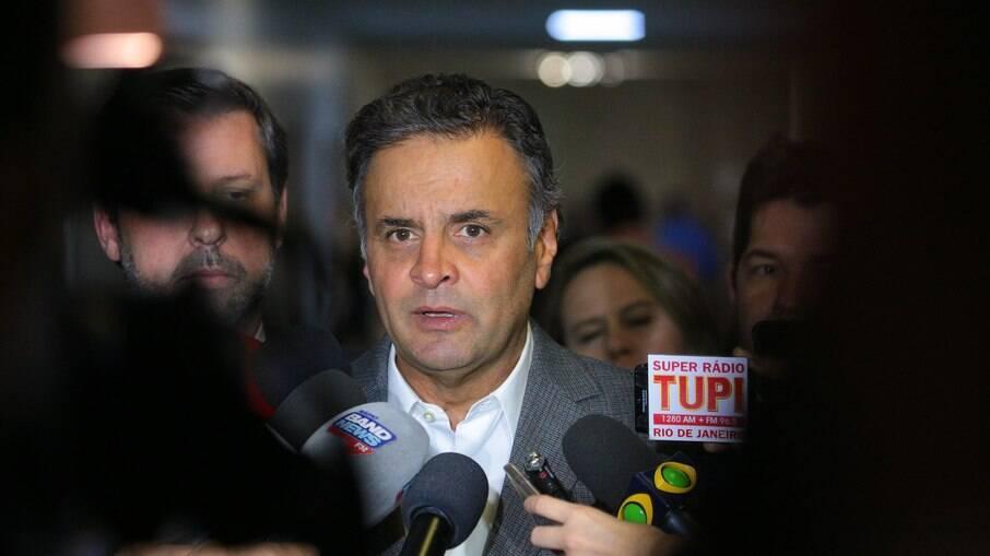 Aécio Neves assumiu comando da Comissão de Relações Exteriores da Câmara