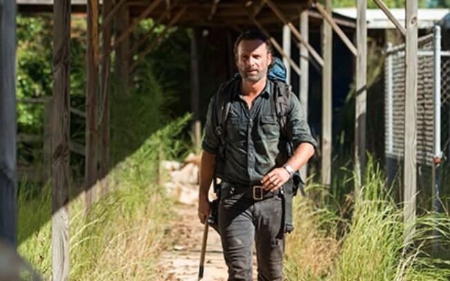 Rick Grimes no 12º episódio de ''The Walking Dead''