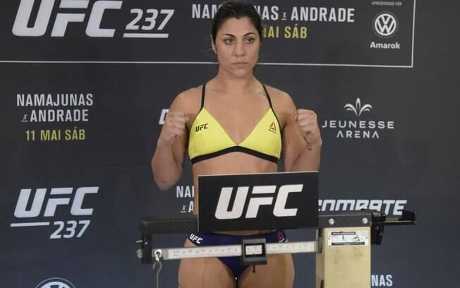 Bethe Correia também teve problemas com peso no UFC