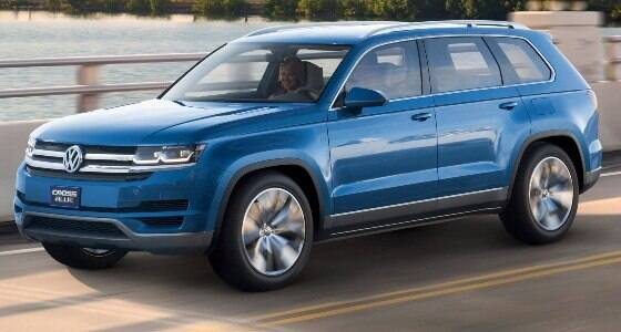 Conheça o Atlas, o maior utilitário da Volkswagen