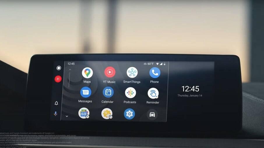 Motorista poderá controlar smarthouse pelo Android Auto com novo sistema da Samsung