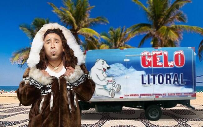Caminhão de gelo salva esquimó do calor