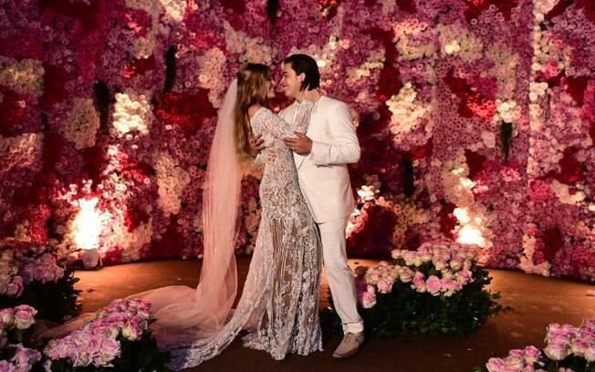A união de Luísa Sonza e Whindersson Nunes foi um dos casamentos dos famosos mais comentados nas redes sociais