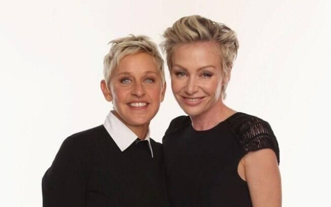 Ellen e Portia foram um dos casais lembrados como mais influentes de Hollywood