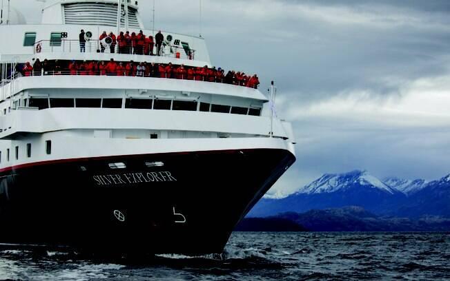 A Silversea também atende roteiros de expedição pelo Alasca
