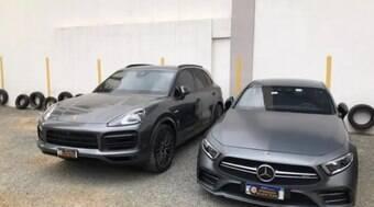 Operação da PF prende dez e apreende carros de luxo; veja fotos