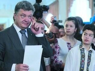 """""""Rei"""". Em clima de """"já ganhou"""", Petro Poroshenko diz que vai administrar Ucrânia como suas empresas"""