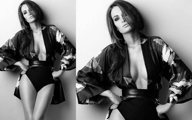 Priscila Machado segue carreira de modelo