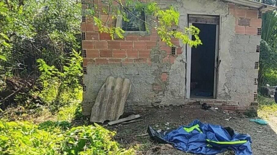 Local onde as vítimas foram encontradas