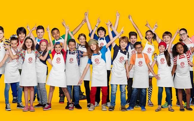 Vinte crianças participam do 'MasterChef Júnior', na Band