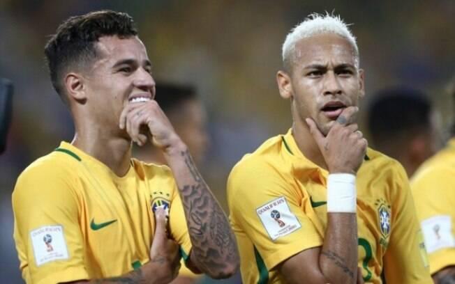 Neymar quer jogar futebol com Philippe Coutinho também no Barcelona