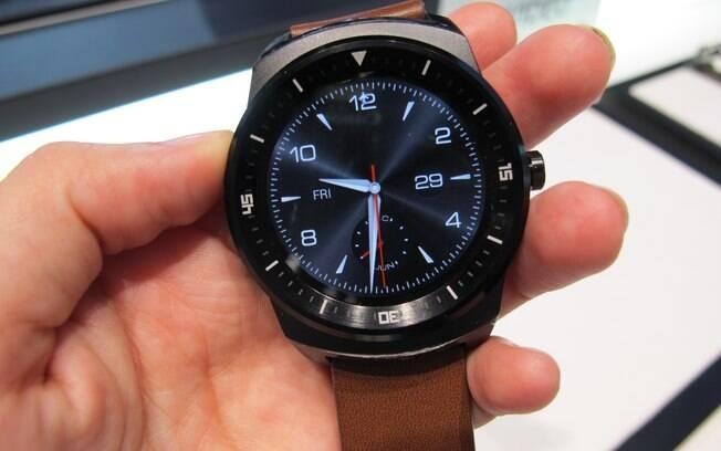 G Watch R é novo relógio inteligente da LG