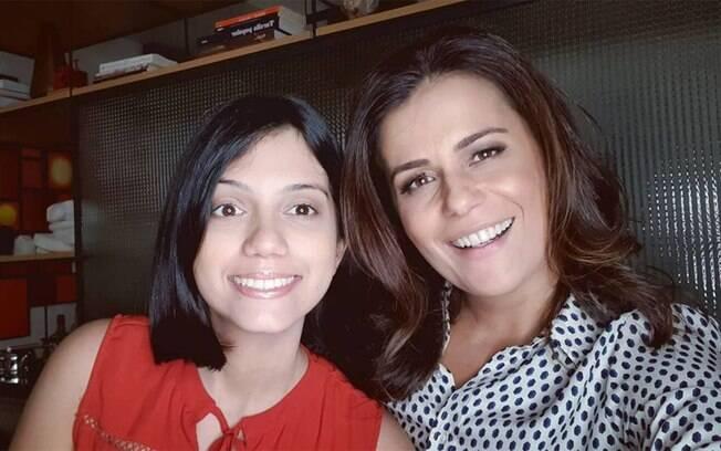 Adriana Araújo conta que pai da filha quis trocar bebê na maternidade